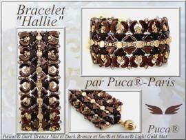 Armband 'Hallie', ontwerp Puca, met  o.a. Hélios®, Minos®, Samos®