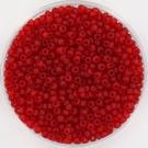 11-0141F Miyuki Rocailles 11/0 Transparant Matte Ruby, per 10 gram