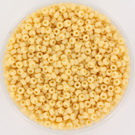 11-0493 Miyuki Rocailles 11/0 Opaque Pear, per 10 gram
