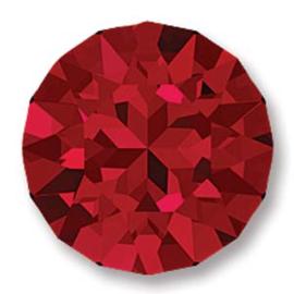 Swarovski #1088 39ss Scarlet foiled, per 2 stuks