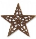 Vintaj Star Trellis 45mm, per stuk