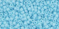 TT01-0043 TOHO Treasure #1 11/0 Opaque Blue Turquoise, per 5 gram