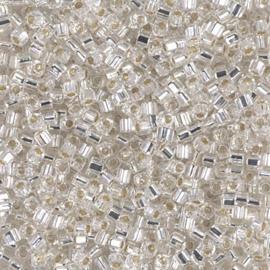 SB0001 Silver Lined Crystal, per 10 gram
