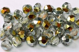 00030/28001 Fire polished 3mm Crystal Marea, 100 of 50 stuks, vanaf