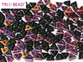 Tri-bead Jet Sliperit, per 5 gram (±140 stuks)
