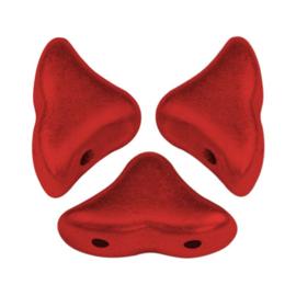Hélios® par Puca® Red Metallic Mat, per 20 stuks
