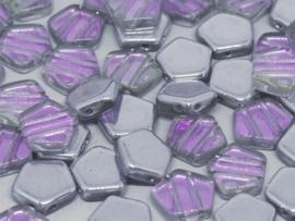 Pego Bead 10 mm Crystal Vitrail Light, per 5 stuks