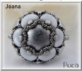 Ring 'Joana', ontwerp Puca, met o.a. Arcos®