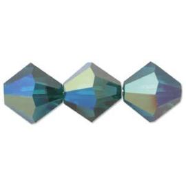 #5328 03mm Emerald AB, €48 stuks €5,65, per 2 stuks €0,30
