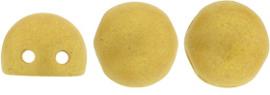 CAB07-S1009WH CzechMates Cabochon 7mm Pacifica Ginger, per 25 stuks