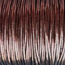 Soutache 3mm 144 Metallic Bronze, per meter