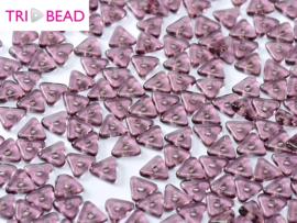 Tri-bead Amethyst, per 5 gram (±140 stuks)