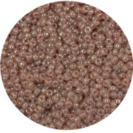 8-2371Miyuki Rocaille 8/0 Ceylon Translucent Peony