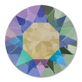 Swarovski #1088 39ss Crystal Paradise Shine foiled, per 2 stuks