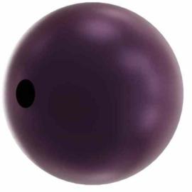 Swarovski #5810 Round Pearl 4mm Crystal Elderberry, per 20 stuks