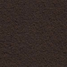 US0317 Ultrasuede Soft Coffee Bean, 21,5x21,5cm en 21,5x10,75cm, v.a.