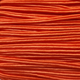 Soutache 3mm 026 Tangerine Orange, per meter