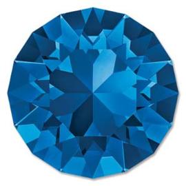 Swarovski #1088 39ss Capri Blue foiled, per 2 stuks