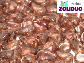 ZDL-00030/65491 Zoliduo® Rechts: Crystal Roman Rose, per 25 stuks
