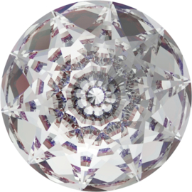 Swarovski #1400 Dome 18mm Crystal, foiled, per stuk