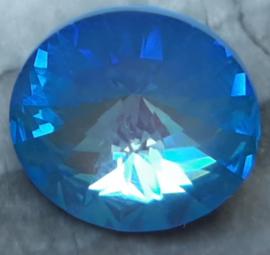 Swarovski #1122 14mm Rivoli Crystal Ocean DeLite LacquerPRO, per stuk