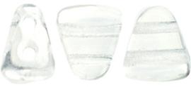 PBNIB-00030 Matubo NIB-BIT 6x5mm Crystal, per 10 gram