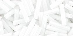 TB-03-41 Bugle #3 Opaque White, per 10 gram