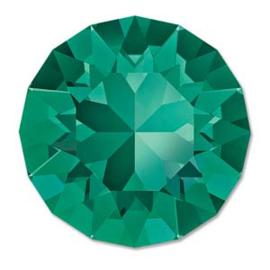 Swarovski #1088 39ss Emerald foiled, per 2 stuks
