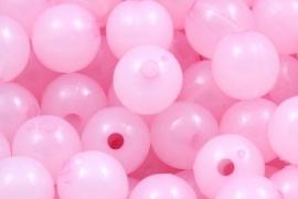 Acryl opaalkraal roze 8mm per 20 gram ongeveer 60 stuks