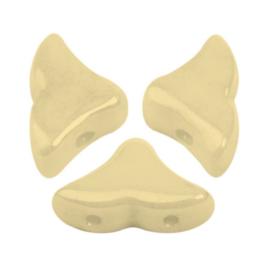 Hélios® par Puca® Opaque Ivory Ceramic Look, per 20 stuks