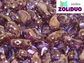 ZDL-00030/14415 Zoliduo® Rechts: Crystal Bronze, per 25 stuks