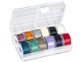 PT-50-1002 TOHO One-G Thread 50 Yard/45m 12 kleuren in een doosje #2