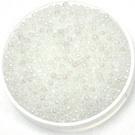 11-0131sfr Miyuki Rocailles 11/0 Silverlined Semi Matte AB Transparant, per 10 gram