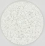 11-0528 Miyuki Rocailles 11/0 Ceylon White Pearl, per 10 gram