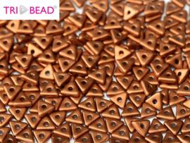 Tri-bead Copper, per 5 gram (±140 stuks)