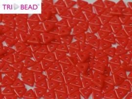 Tri-bead Opaque Red, per 5 gram (±140 stuks)