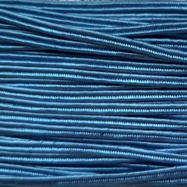 Soutache 3mm 015 Denim Blue, per meter