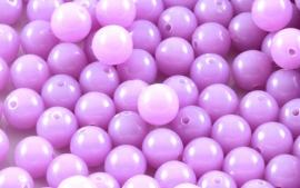 Acrylkraal lila opal per 50 gram ongeveer 150 stuks