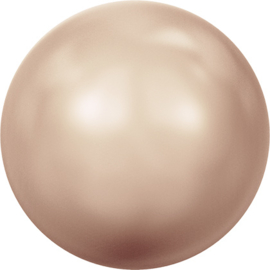 Swarovski #5810 Round Pearl 4mm Rose Gold, per 20 stuks