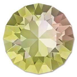 Swarovski #1088 39ss Crystal Luminous Green foiled, per 2 stuks