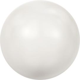 Swarovski #5810 Pearl 4mm  Crystal White, per 50 stuks