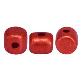 Minos® par Puca® Red Metallic Mat, per 100 stuks