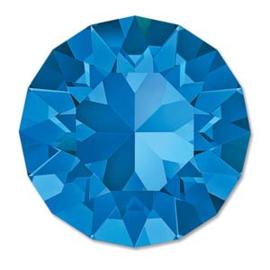 Swarovski #1088 39ss Sapphire foiled, per 2 stuks