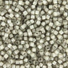 DB2391 Miyuki Delica 11/0 Fancy Lined Moonstone, per 5 gram