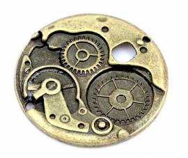 Hanger antiek brons steampunk watch 38mm
