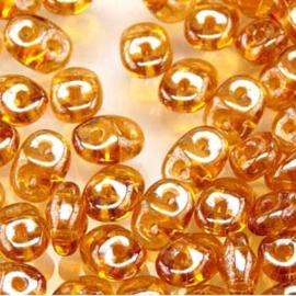 MSD-10060/14400 SuperDuo Topaz White Luster, per 10 gram