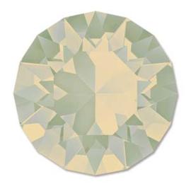 Swarovski #1088 39ss Light Grey Opal foiled, per 2 stuks