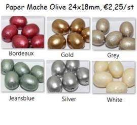 Olive 24x18mm