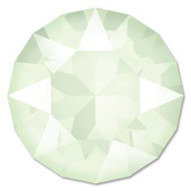Swarovski #1088 39ss Crystal Powder Green, per 2 stuks