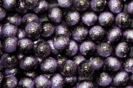 Miyuki Galaxy Beads 8 mm Purple, per stuk